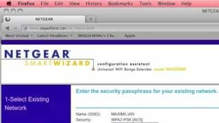 how to netgear universal wifi extender setup