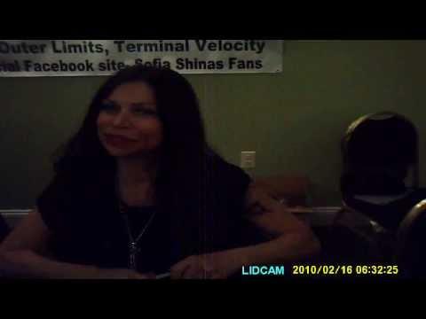 MEETING SOFIA SHINAS (THE CROW)