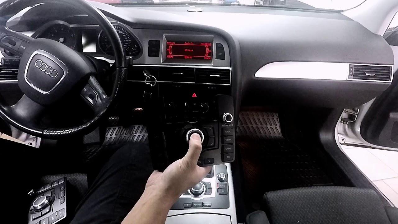 MMI 2G Basic Bluetooth musik streaming Audi (installation