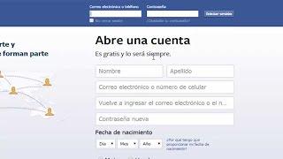 كيفية إنشاء أو إجراء حساب Facebook في عام 2016