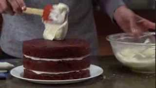 how to make red velvet cake with cream cheese frosting