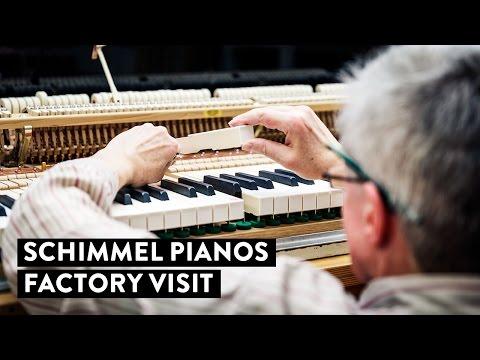 Schimmel Pianos Factory Visit