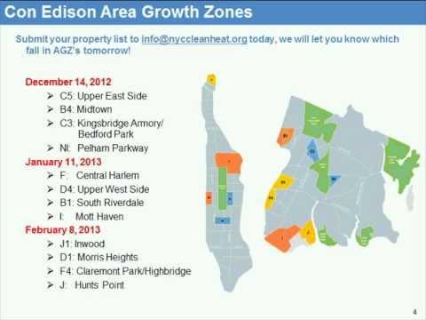 NYC Clean Heat: Con Edison's 2013 Area Growth Zones
