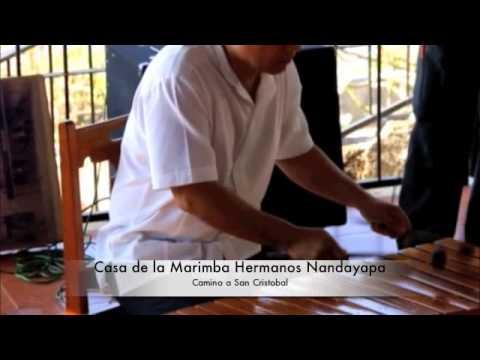 Camino a San Cristobal en la casa de la Marimba hermanos nandayapa