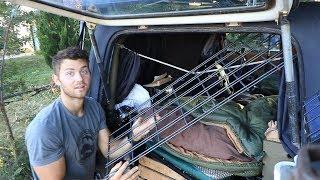 Overlanding JEEP Mods!   interior storage rack, Bestop driver's seat, camping trailer, trasharoo-etc