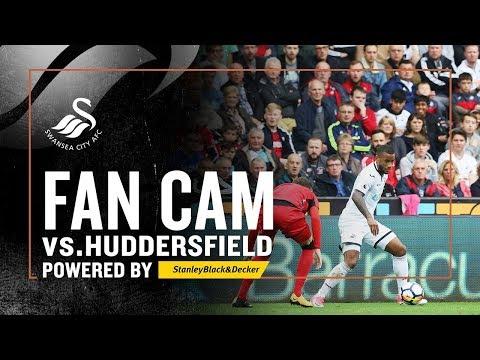 Fan Cam: Swansea v Huddersfield