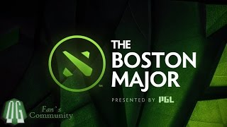 OG vs AF - The Boston Major - Grand Final - Game 3 bo5