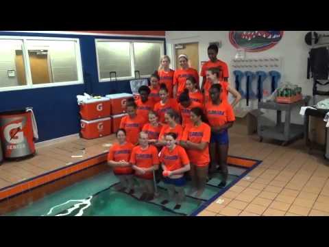 Florida Gators Volleyball Team ALS Ice Bucket Challenge