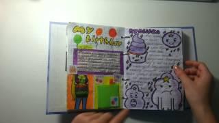Обзор на мой личный дневник(L. D.)^-^