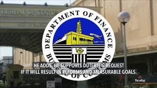 Duterte seeks P4.2B to double Customs workforce