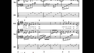 Inspiracion/Benny- Partitura/Multiscore ((Piano+voz+tablatura+cifrado+letra)