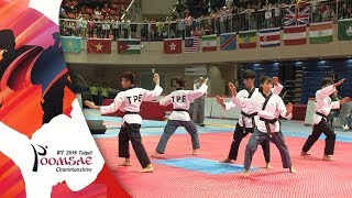 Gold Medal I Freestyle Mixed Team Under 17 Final, Chinese Taipei Na...