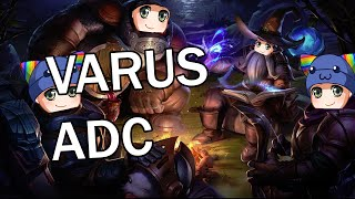 League of Legends - Varus Swiftbolt ADC - Full Gameplay Commentary