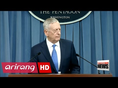 U.S. defense secretary Mattis says war with North Korea would be
