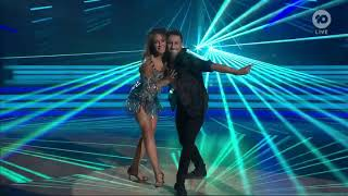 Michelle Bridges on Dancing with the Stars - Episode 1