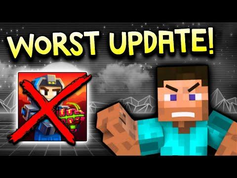 THE WORST UPDATE EVER!!!! 😡   Pixel Gun 3D - New Update 17.4.0 [Review]