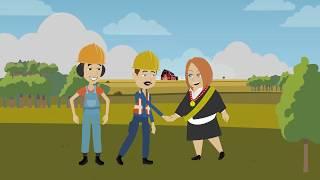 Druce DP-Gruppe animierte Erklärer