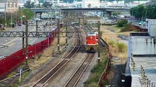 2018.03.02 高雄機廠通勤列車7214次通過(高雄站 - 左營站)