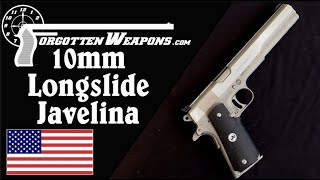 Longslide 10mm Javelina 1911: Plate Rack Obliterator (When it Works)!