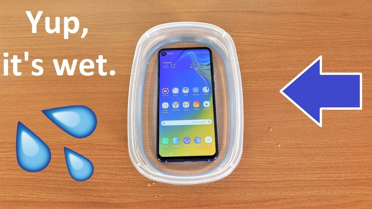 on sale 26b63 a7f1f Galaxy A9 2019 Water Test - Is It Water Resistant?