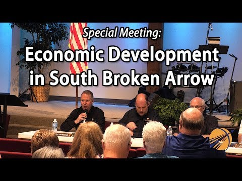 Special Council Meeting: Economic Development in South Broken Arrow
