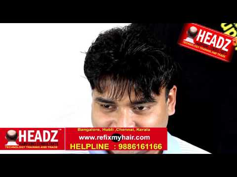 Latest Hair fixing Tech in Rajaji Nagar, Bangalore, Call 9886161142 www.headzhairfixing.com