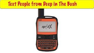 Spot X GPS 2 Way Messenger