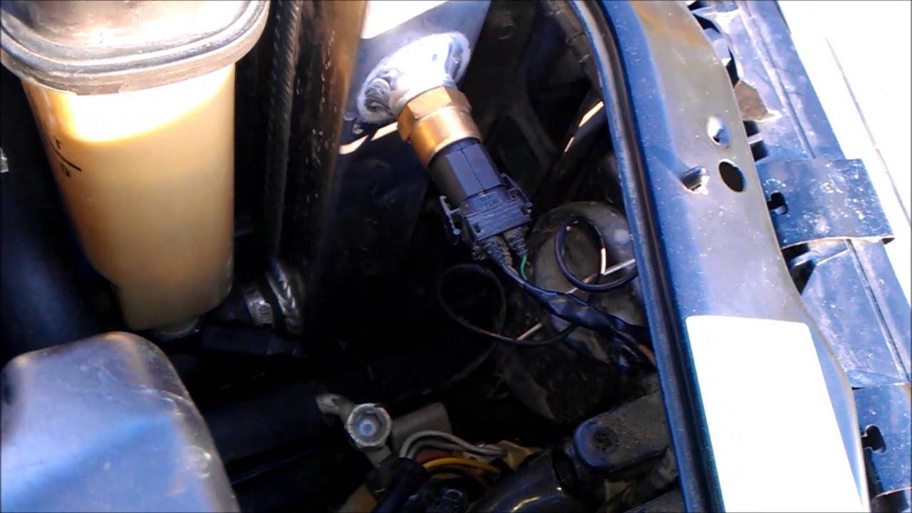2003 Harley Wiring Diagram E36 Electric Fan Conversion Diy Youtube