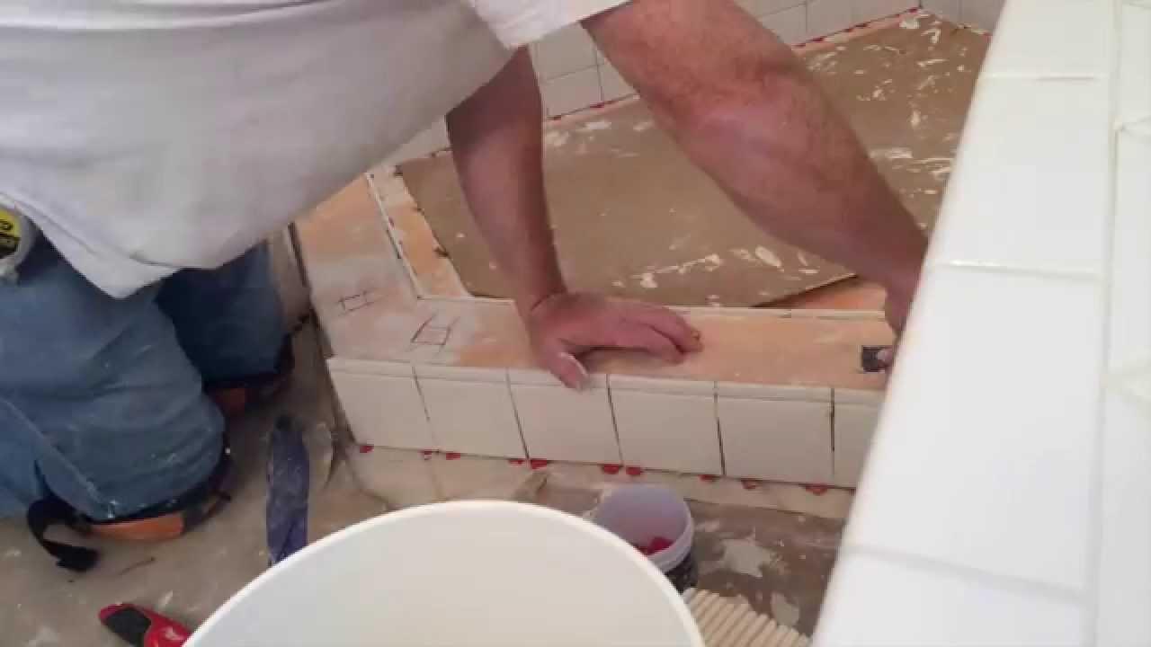 Shower Floor Redo By Mann Tile