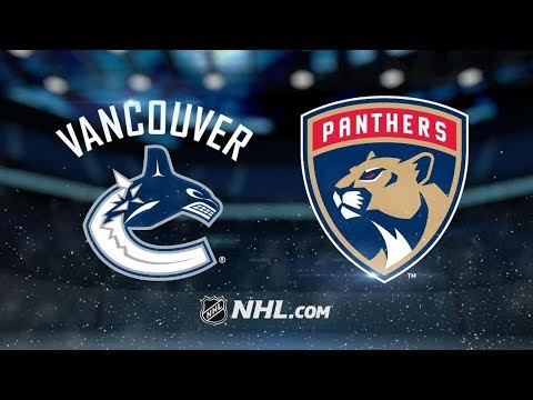 Vancouver Canucks vs Florida Panthers (3-2) – Oct. 13, 2018 | Game Highlights | NHL 2018
