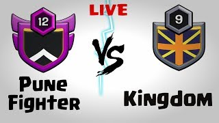 LIVE CLAN WAR   SUNDAY MORNING   CLASH OF CLANS   INDIA