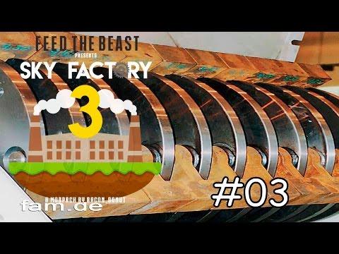 Minecraft Sky Factory 3 - E03 Siebender Cobblestone Generator