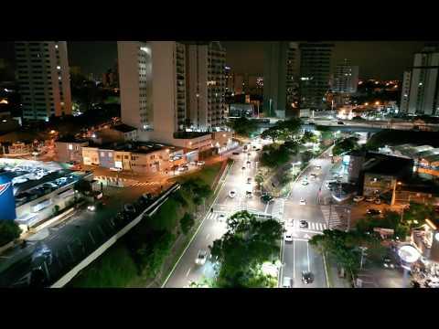 Jundiaí Shopping com iluminação Natalina, Av Nove de Julho, Beco Fino, Av Jundiaí 4k