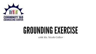 Grounding Exercise