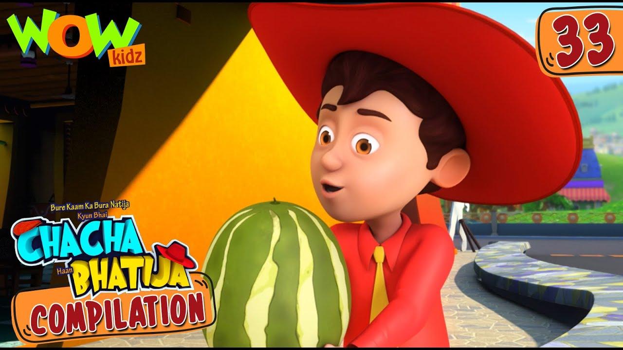 Chacha Bhatija | Compilation 33 | Funny Animated Stories | Wow Kidz
