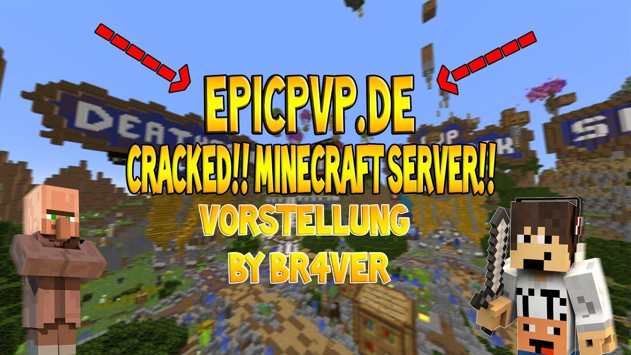 GommeHD Für Cracked MineCraft Spieler I EpicPvP Server Vorstellung - Minecraft spieler server finden