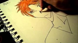 Drawing Kyo Sohma