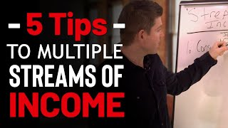 How to Create Multiple Streams of Income in 2020| 5 Steps to Add More Income Streams This Year