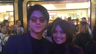 BOXOFFICE AND PHENOMENAL KING AND QUEEN KATHNIEL at the #ExesBaggageBlackCarpet