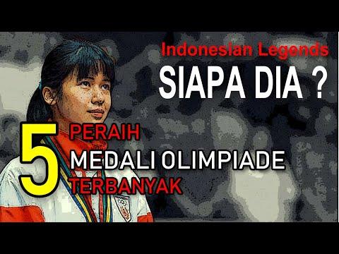 TIDAK DISANGKA  ! INILAH 5 ATLET INDONESIA TERBANYAK MERAIH MEDALI OLIMPIADE
