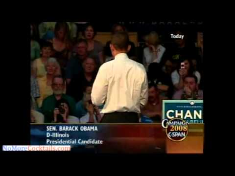[FLASHBACK] In 2008 Candidate Obama said he would not use signing statements to go around Congress