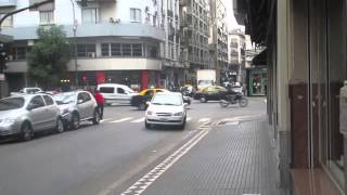Baixar Intersection of San José and Av. Belgrano in Buenos Aires, Argentina - May 18, 2015