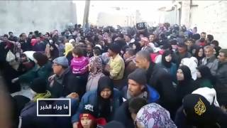 مهجّرون من حلب دون رحمة