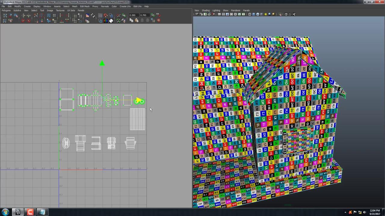 Headus uv layout maya 2013