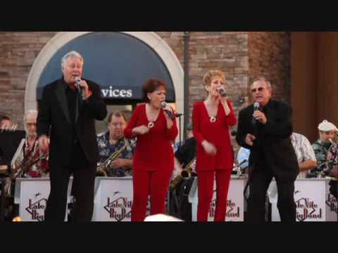 """The Late Nite Big Band with special guests The Modernaires """" Chattanooga Choo Choo"""""""