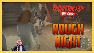 A Rough Night in Friday the 13th The Game