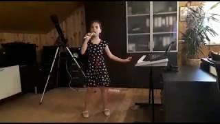 Обучение вокалу, пению онлайн. Пример выступления. Индира Галимжановна. Profi-Teacher.ru