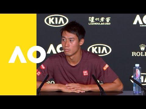 Kei Nishikori pre-event press conference   Australian Open 2019