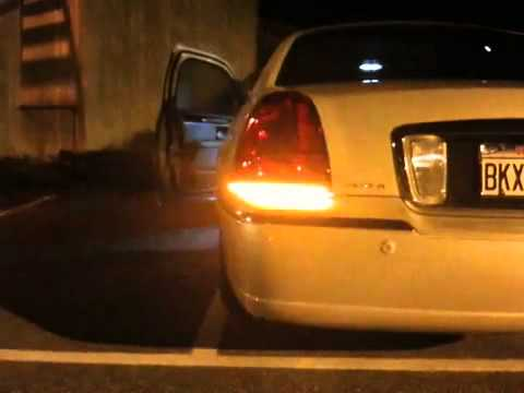 Lincoln Town Car Led Amber Turnsignal Youtube