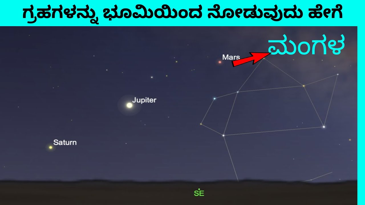 ?? How to view planets from Earth || ಗ್ರಹಗಳನ್ನು ಭೂಮಿಯಿಂದ ನೋಡುವುದು ಹೇಗೆ !